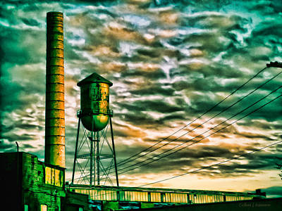 By Colleen Kammerer Photograph - Toxic Sky by Colleen Kammerer