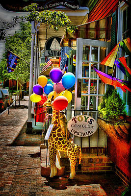 Photograph - Toy Storefront by Trudy Wilkerson