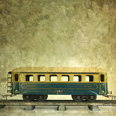 Toy Train Art Print