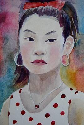 Painting - Toyota Festival Girll by Parag Pendharkar