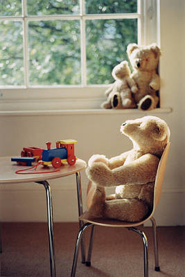 Autistic Photograph - Toys by Lawrence Lawry