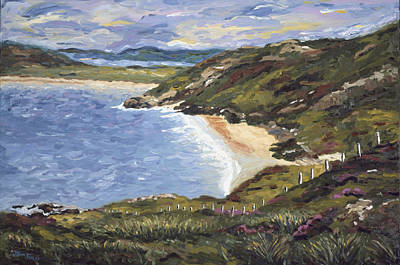 Painting - Tra Na Rossan by John Farley