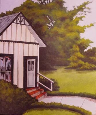 Punta Gorda Painting - Trabue House by Charles Peck