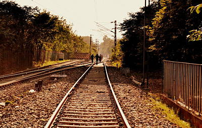 Photograph - Track by Rima Biswas