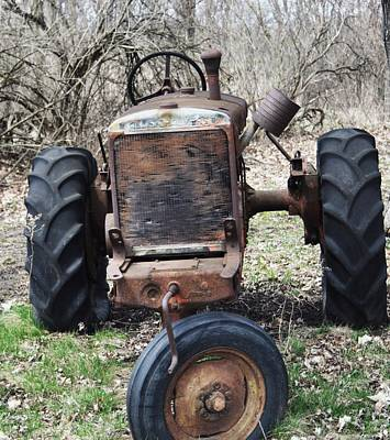 Photograph - Tractor-1 by Todd Sherlock