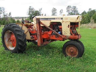 Photograph - Tractor by Anita Burgermeister