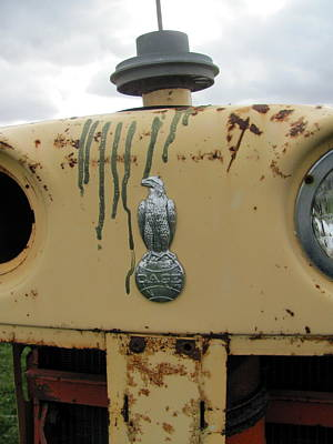 Photograph - Tractor Close Up 2 by Anita Burgermeister