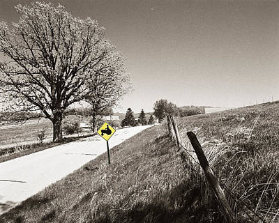 Tractor Country Art Print