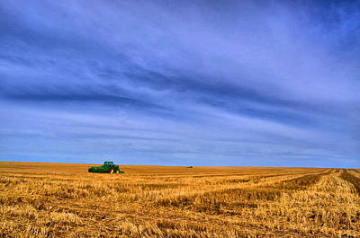Photograph - Tractor Of The Skies by Emily Stauring