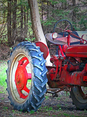 Photograph - Tractor Tracking 2 - Hope Bay Campground by Cyryn Fyrcyd