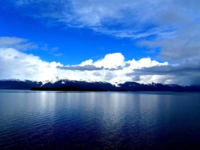 Alaskan Cruise Photograph - Tracy  Arm 1 by Randall Weidner