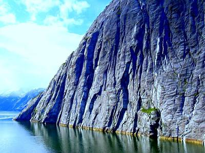 Alaskan Cruise Photograph - Tracy Arm 11 by Randall Weidner