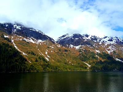 Alaskan Cruise Photograph - Tracy Arm 6 by Randall Weidner