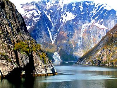 Alaskan Cruise Photograph - Tracy Arm 8 by Randall Weidner