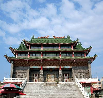 China Photograph - Traditional Chinese Folk Religion Temple by Yali Shi
