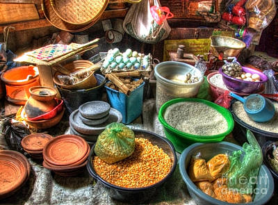 Photograph - Traditional Grocery Shop by Charuhas Images