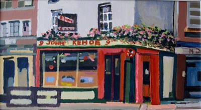 Traditional Irish Pub In Dublin Original by Brian Junior Lambert