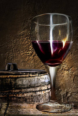 Photograph - Traditional Red Wine by Danuta Bennett