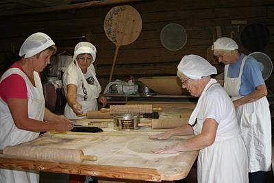 Traditional Swedish Flat Bread Baking Original