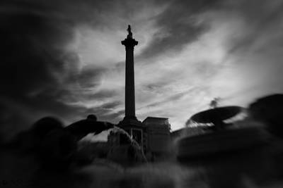 Photograph - Trafalgar Square by Beverly Cash