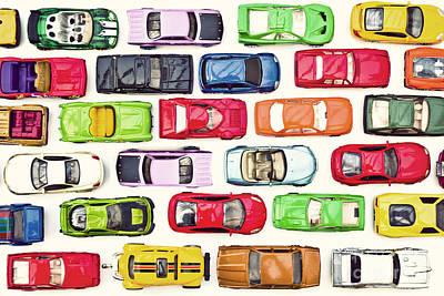 Traffic Jam Art Print by Catherine MacBride