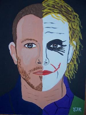 Tragic Jokerman Art Print by Eamon Reilly