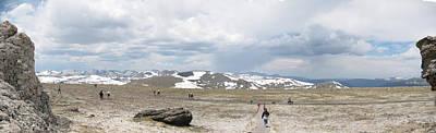 Wall Art - Digital Art - Trail Ridge Road Rocky Mountain National Park by Bill Kennedy