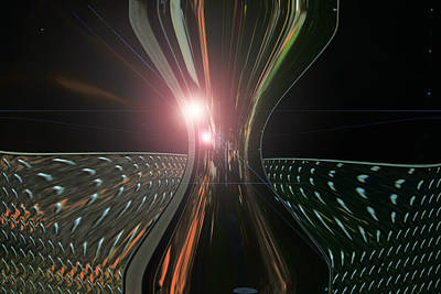 Photograph - Trailor Slide by Cyryn Fyrcyd