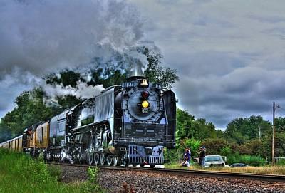Union Pacific 844 Digital Art - Train 844 by Joseph Porey