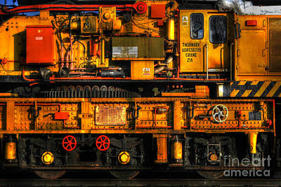 Photograph - Train Crane by Yhun Suarez