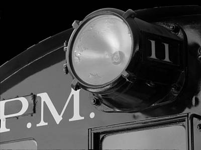 Train Headlight Art Print by Darleen Stry