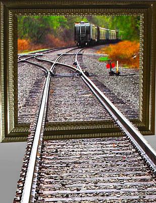 Train Oof Art Print by Joe Granita