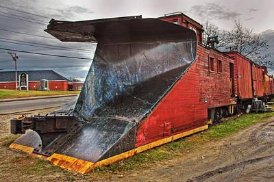 Photograph - Train Plow by Joann Vitali