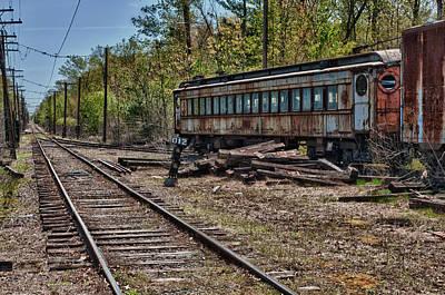 Photograph - Train Rails by Fred LeBlanc