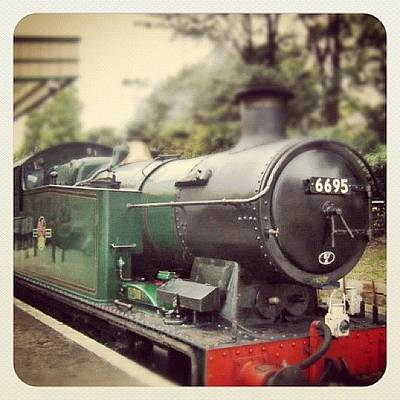 Steam Wall Art - Photograph - #train #steam Train by Jenny Mills