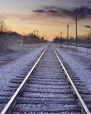 Photograph - Train Tracks And Color 2 by James BO Insogna