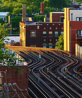 Photograph - Train Tracks by Bruce Bley