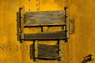 Metal Fabrication Photograph - Train.6786 by Gary LaComa