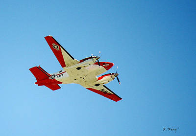 Photograph - Training Flight T44a Pegasus by Roena King