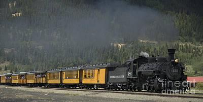 Photograph - Trainload Of Tourists by Tim Mulina