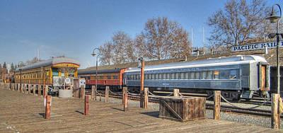 Trains Art Print by Barry Jones