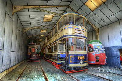 Photograph - Tram 189 by Yhun Suarez