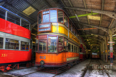 Photograph - Tram 812 Glasgow Corporation by Yhun Suarez