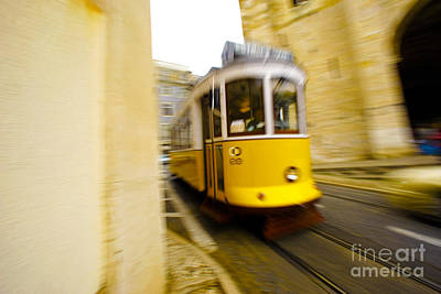 Tram Art Print by Andre Poling