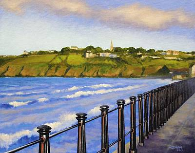 Tramore County Waterford Art Print by John  Nolan