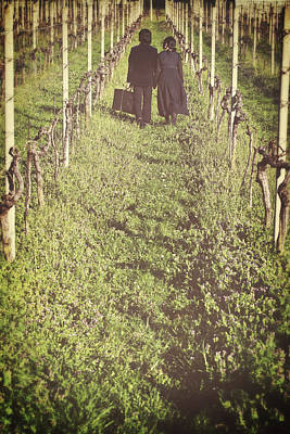 Vintage Wine Lovers Photograph - Tramps by Joana Kruse
