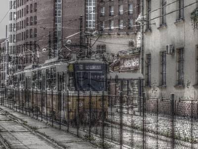 Tramway Art Print by Angel Jesus De la Fuente