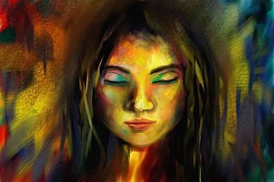 Digital Art - Trance by Parag Pendharkar
