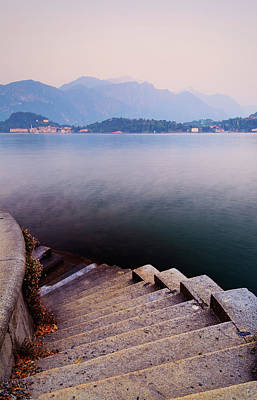 Lake Como Photograph - Tranquil by John and Tina Reid