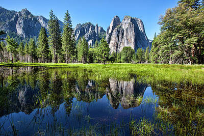 Tranquility In Yosemite Art Print by Mimi Ditchie Photography